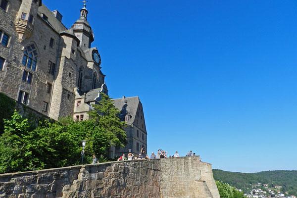 Марбургский Замок - символ города.