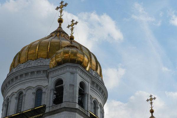 Der zentrale Turm der Kathedrale ist 103 Meter hoch.
