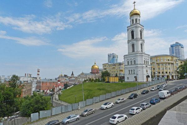 Im Stadtzentrum von Samara