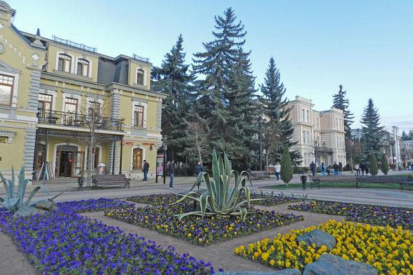 Am Kurort-Prospekt von Kislowodsk