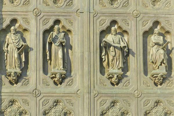 Detailaufnahme der Eingangstore