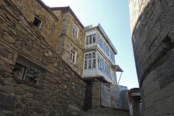 Im alten Teil von Kubatschi