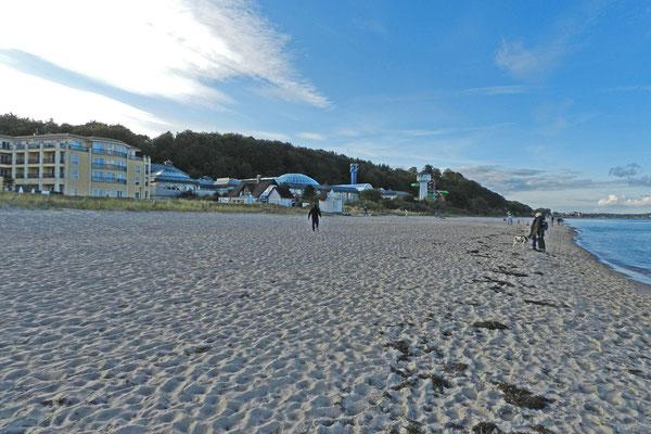Пляж в Шарбойтце.