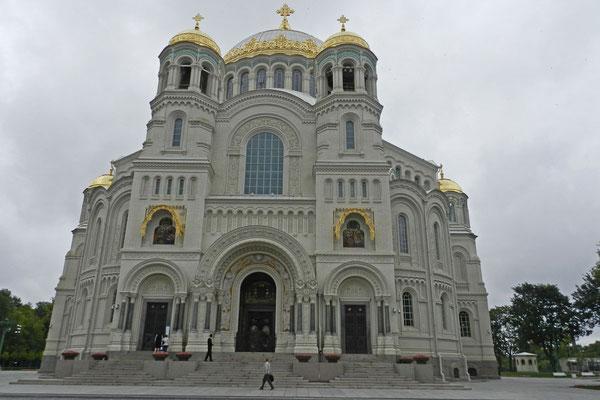 Der Marine-Dom von Kronstadt wurde 1913 eingeweiht.