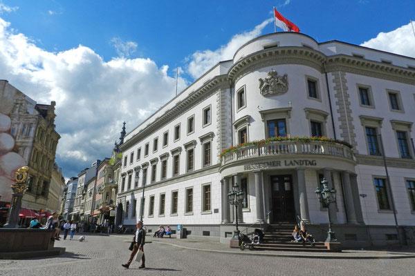 Городской дворец - ныне Ландтаг земли Гессен