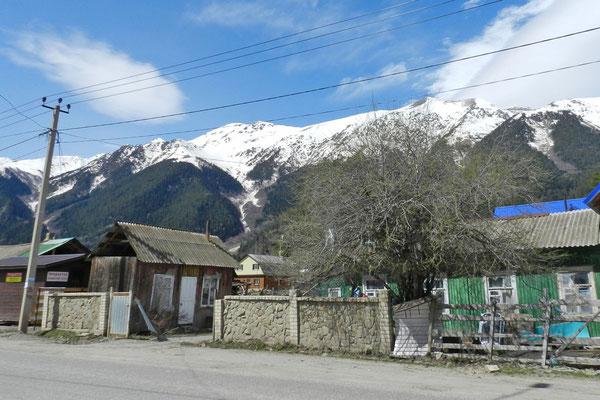Im alten Dorfzentrum