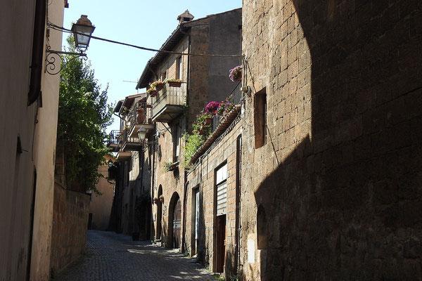 In der Altstadt von Orvieto