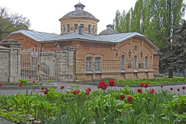 Altes Badehaus aus dem 19. Jahrhundert