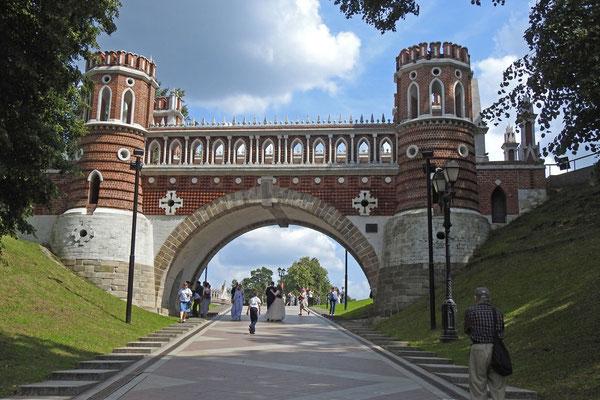 Auf dem Weg zum Palast
