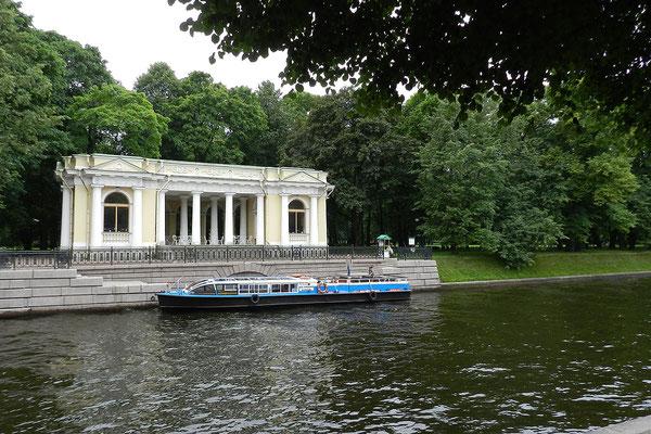 Pavillon im Michaelspark