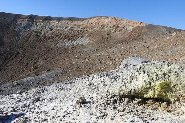 Mondlandschaft am Vulkan