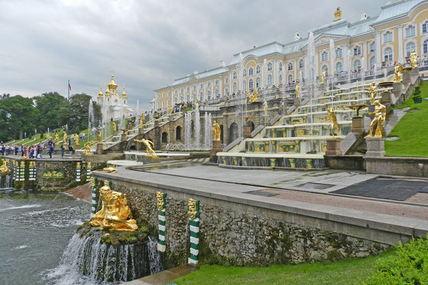 "Der Palast gilt als ""Versailles an der Ostsee"""
