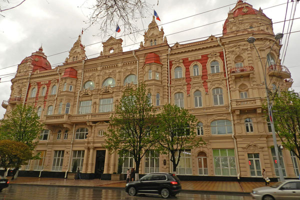 Das Rathaus von Rostow am Don