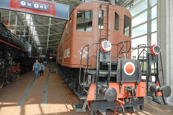 Prototyp der ersten sowjetischen Diesellok von 1924