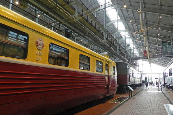 Den rumänischen Malaxa-Triebwagen von 1939 nutzte die sowjetische Eisenbahn für Dienstfahrten.