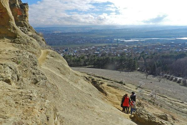 Blick vom Ring-Berg nach Westen