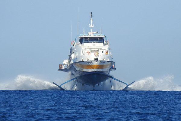 Aliscafo-Tragflächenboot