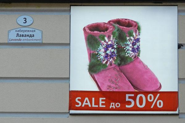 Winterschlussverkauf im Kaukasus