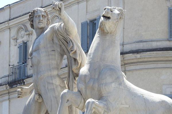 Dioskurenbrunnen auf der Piazza del Quirinale