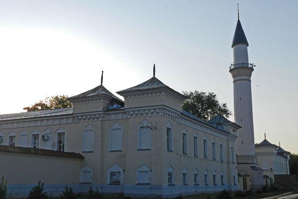 Minarett der Karawanserei von Orenburg