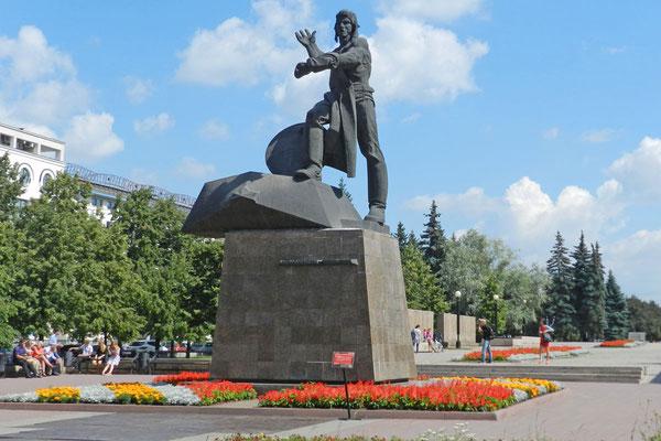 Denkmal für die freiwilligen Panzerfahrer
