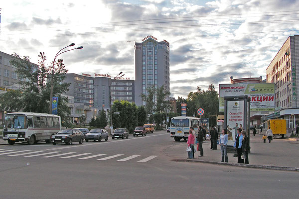 Neues Einkaufszentrum in Syktywkar