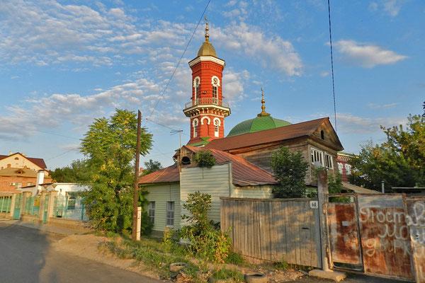 Die Rote Moschee ist offizieller Sitz des Muftis von Astrachan.