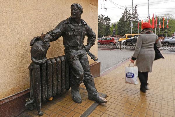 Denkmal für einen Heizungsinstallateur