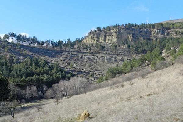 Landschaft in der Nähe des Ring-Bergs