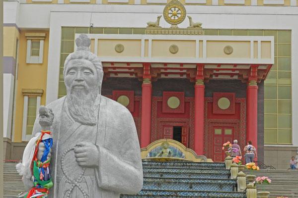 In Kalmückiens Hauptstadt steht der größte buddhistische Tempel Europas.