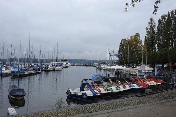 Порт поселка Унтерулдинген