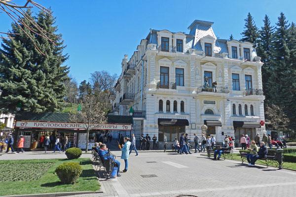 Altes Hotel im Zentrum von Kislovodsk
