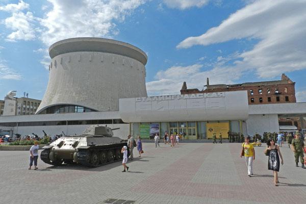 Daneben befindet sich das Museum der Schlacht von Stalingrad