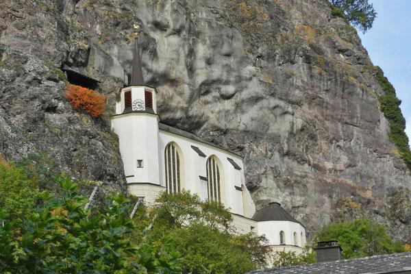 Фельзенкирхе - весьма необыный памятник архитектуры