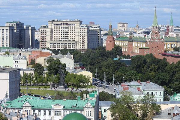 Staatsduma, Alexander-Garten und Kreml