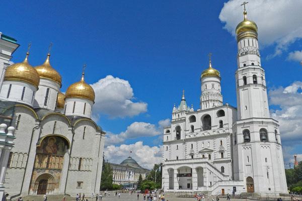 Mariä-Entschlafens-Kathedrale und der Glockenturm Iwan der Große