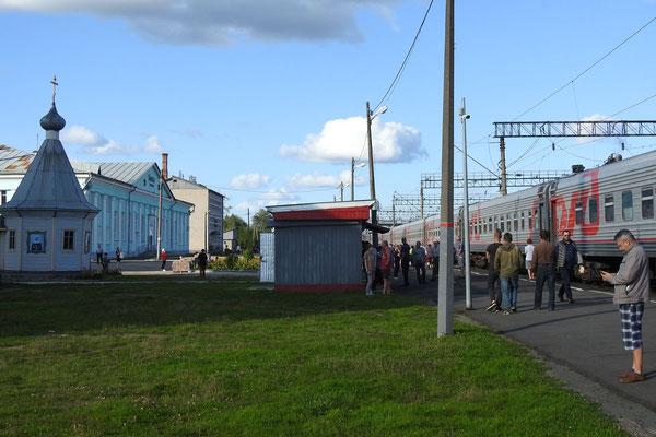 Zwischenstopp in Konoscha