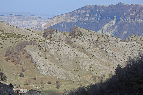 Berglandschaft bei Gunib
