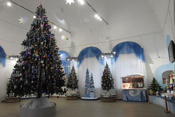 Im Weihnachtsbaumkugel-Museum