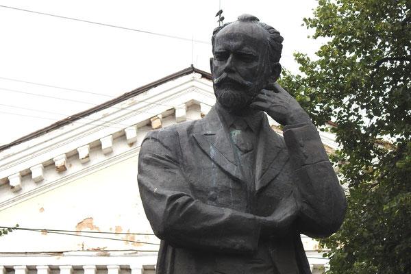 Tschaikowski-Denkmal im Stadtzentrum