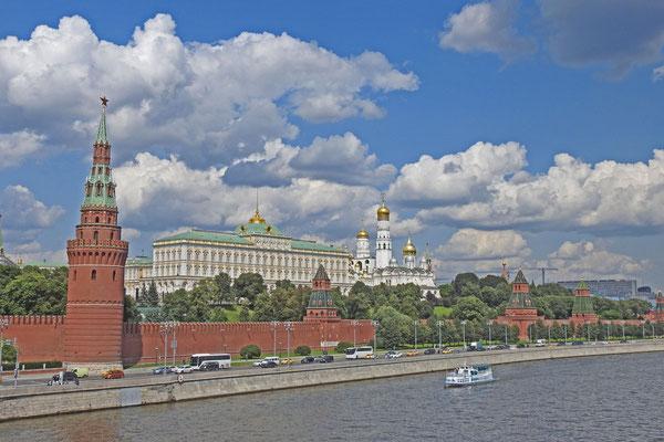 Die Große Steinbrücke bietet tolle Aussichten auf den Kreml