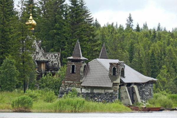 Die Überreste des Freizeitparks sehen recht düster aus.
