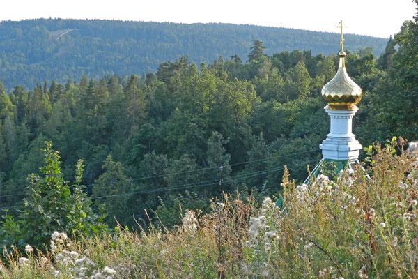 Rings um das Kloster gibt es kaum Orte.