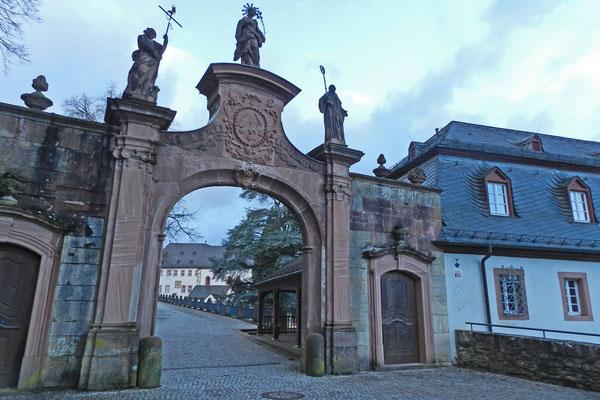 Ворота в Эбербах.