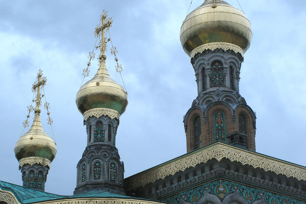 Kuppeln der Maria-Magdalena-Kirche
