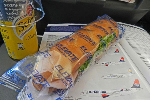 Leckerer Sandwich für Auserwählte