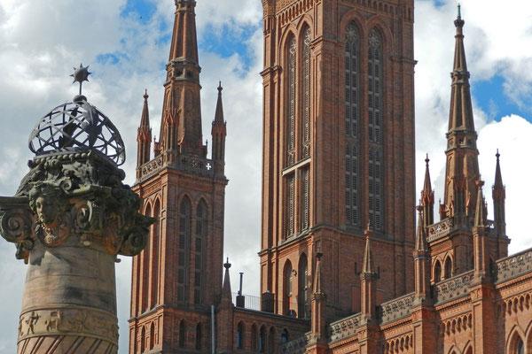 Рыночный собор - крупнейший протестантский храм Висбадена