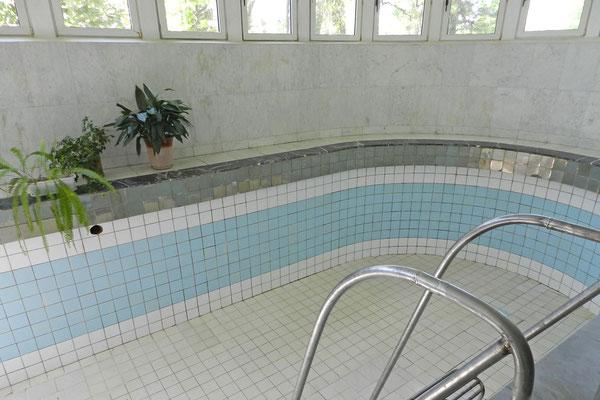 Auch Stalins privates Schwimmbecken wird Besuchern gezeigt.