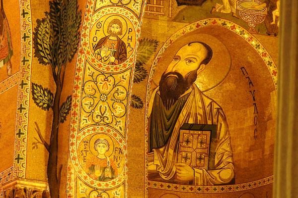 Mosaik in der Palastkapelle