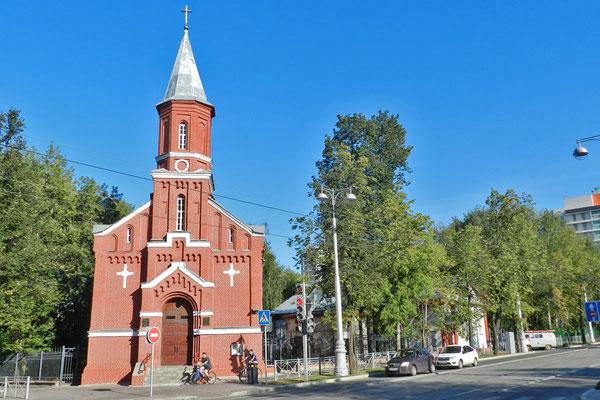 Auch die russlanddeutschen Lutheraner haben ihre eigene Kirche in der Stadt